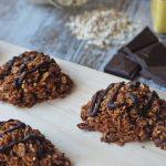 Desayunos saludables dulces - Galletas de granola con chocolate