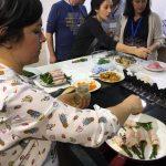 """Así fue el taller """"Cenas ligeras y saludables"""" en Vigo"""